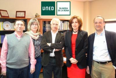 Jurado del I Concurso de Microrrelatos 40 años UNED de Talavera de la Reina
