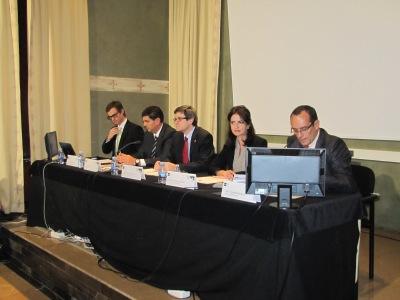 Mesa Presidencial en Tudela