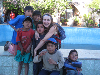 Centro_Ñanta_niños en la calle